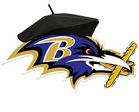 Bordeleaux Ravens team badge